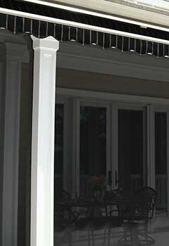 Motorized Exterior Shades In Campbell